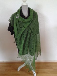 van een bestaande sjaal na gebreid.