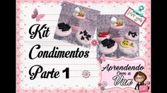 (DIY) Kit Condimentos Parte #1 (Maratona de Potes #23)