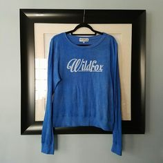 I just discovered this while shopping on Poshmark: {Wildfox} 60's Scripted Sunmer jumper.. Check it out!  Size: M