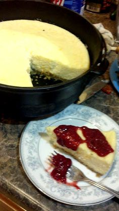 Dutch Oven Cheese Cake Recipes