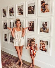 Foto-Inspiration, - Wohnaccessoires - The 2019 Decorating Trends - Diy Bedroom Decor, Diy Home Decor, Wall Art Bedroom, Ikea Boys Bedroom, Bedroom Benches, Mirror Bedroom, Room Art, Family Pictures On Wall, Display Family Photos