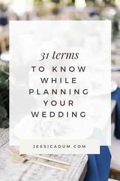 31 Common wedding terms every bride needs to know while planning her wedding - Wedding terminology your wedding vendors will use throughout the wedding planning process. Wedding Terms, Plan My Wedding, The Wedding Date, Budget Wedding, Wedding Vendors, Wedding Planner, Free Wedding, Wedding Ideas, Event Planning Business