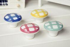 Kids Knob Ceramic Knobs Drawer Knob Dresser Knobs Porcelain