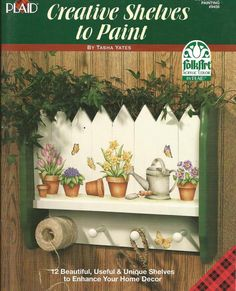 Creative Shelves to Paint Tole Painting Craft Book - 1