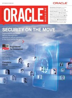 Oracle Magazine - September/October 2012 - Back Cover-Front Cover