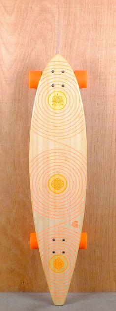 "GoldCoast 40"" Orbit Pintail Longboard"