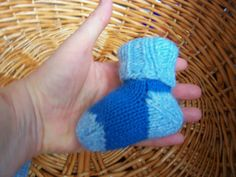 Hand Knitted Angora and Alpaca Wool Baby Socks /Baby Shower Gift/Photo Prop/Bouties/Newborn 0- 3 Months.