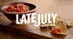 Late July Organic Snacks! Especially the Bacon Habanero Tortilla Chips.  YUMMMM