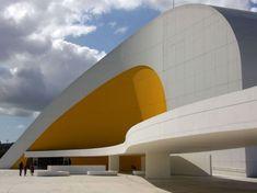 Centre culturel d'Avilés, en Espagne. Oscar Niemeyer