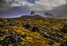 Snæfellsnes Peninsula Lava FieldsIceland