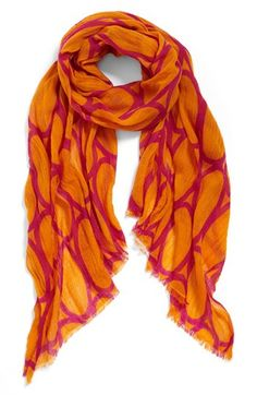 Echo Print Wool Scarf available at #Nordstrom
