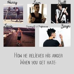 I like Harry's... he is fighting to protect the one<3 and liam is preparing zayn is drawing him beating up the person and Louis is like let me go before I punch out the laptop and nail's is just sexy