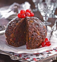 Traditional Christmas pudding recipe - Better Homes and Gardens - Xmas Food, Christmas Sweets, Christmas Cooking, Christmas Cakes, Traditional Christmas Pudding Recipe, English Christmas Pudding, Slow Cooked Beef Brisket, Xmas Pudding, Carrot Pudding