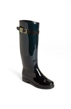 Rain boots that look like riding boots?  Yes.  Just yes. däv 'Devon' Ombré Rain Boot | Nordstrom