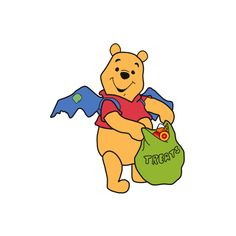 Disney-Clipart.com --> Disney 100 Acre Woods Halloween Clipart ❤ liked on Polyvore featuring disney