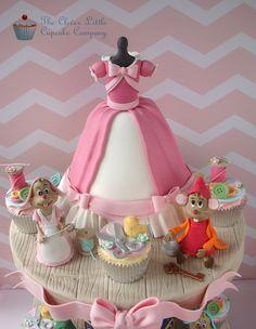 Cinderella Cake And Cupcakes