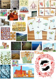 Check out my blog ramblings and arty chat here www.fishinkblog.w... and my stationery here www.fishink.co.uk , illustration here www.fishink.etsy.com and here carbonmade.com/.... Happy Pinning ! :)