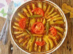 Fırında Kıymalı Patates Dizmesi Resimli Tarifi - Yemek Tarifleri