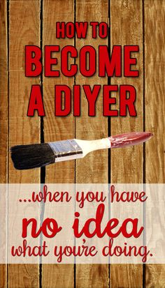 How to overcome your fears and start trying new DIY projects!