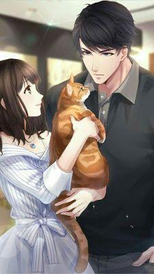 anime romance Best romance novel to free read on Anime Love Couple, Manga Couple, Anime Couples Manga, Cute Anime Couples, Romantic Anime Couples, Couple Art, Gato Anime, Anime Cupples, Anime Wolf