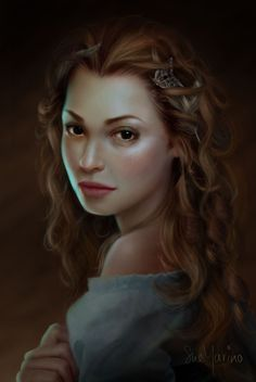:iconevniki:  Phoebe by Evniki (Sue Marino)  Digital Art / Drawings & Paintings / People / Fantasy©2012-2015 Evniki      Just a simple portrait. Done in Photoshop with my wacom tablet.