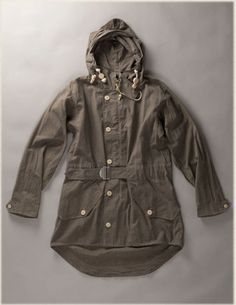 Unlined Cold Weather Parka ‹ Authentic ‹ Store ‹ Nigel Cabourn