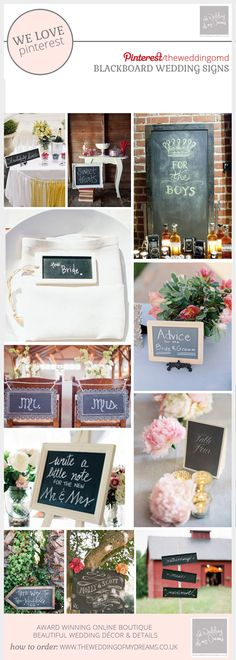 Chalkboard Wedding Signs - chalkboard sign as your welcome sign, or sign for your bar showing the drinks you have on offer. Use blackboard arrow signs Blackboard Wedding, Chalkboard Signs, Wedding Signs, Wedding Ideas, Arrow Signs, Wedding Decorations, Table Decorations, Blackboards, Wedding Planning