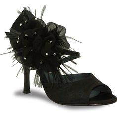 Mod. Luna_fiore by Rosso Latino #RossoLatino #dance #shoes #danceshoes Visit: www.rossolatino.com