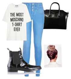 """""""Ootd Work"""" by mechefbu on Polyvore featuring Givenchy, Moschino and Diesel"""
