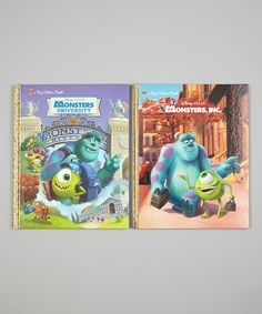Take a look at this Monsters University Big Golden Book Hardcovers by Monsters University on #zulily today!