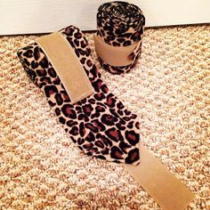 Beautiful Leopard Polo Wraps