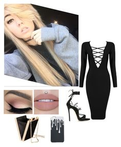 """( New Fc ) Date Night { Kylie }"" by xxthepandaanonxx ❤ liked on Polyvore featuring Dsquared2, H&M and Posh Girl"