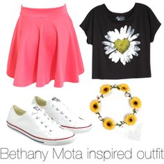 Bethany Mota inspired outfit I made this:@Chloe Burns (TBCI)