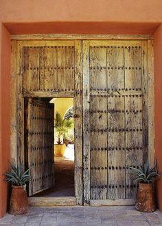 Doors from Hammocks & High Tea: Hacienda Style - Blog