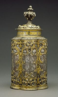 *Canister. Germany, probably Augsburg, circa 1640