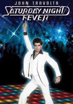 Had a Saturday Night Fever poster