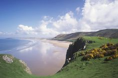 Rhossili Beach, Swansea | Revealed: The 20 best beaches in Wales 2013
