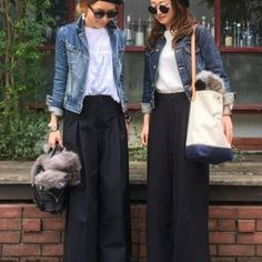 Style Hijab Outfit Casual Ideas For 2019 Japan Fashion, Look Fashion, Hijab Fashion, Trendy Fashion, Korean Fashion, Autumn Fashion, Womens Fashion, Trendy Style, Skirt Fashion