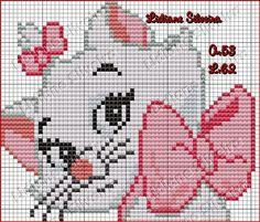 Simple Cross Stitch, Beaded Cross Stitch, Cross Stitch Embroidery, Pixel Crochet, C2c Crochet, Cross Designs, Cross Stitch Designs, Gata Marie, Corner To Corner Crochet