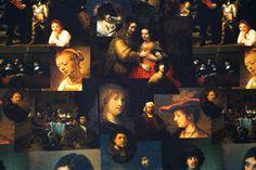 Stenzo 15/16 8908 Tricot paneel digitaal Rembrandt