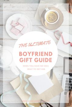 The holidays are near approaching! Need the perfect gift for the man in your life? I created a the perfect boyfriend gift guide: based on the amount of time you've been dating. Click to read (and shop!) more. #giftguide #relationships #boyfriend #holidays #christmas
