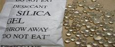 silica bag uses
