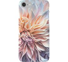 Dahlia Moods iphone case featuring the art of Carol Cavalaris.