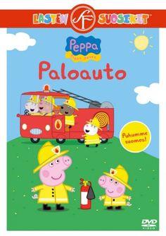 Pipsa Possu: Paloauto dvd. Paloautot kiinnostavat lapsia ja Pipsakin on innoissaan paikalla kun paloautoon pääsee tutustumaan. Mistä napista painetaan, jotta siniset vilkut saa päälle? Pipsa oppii monta uutta asiaa tämän jakson aikana.