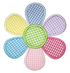 Crazy Daisy Applique - 3 Sizes! | Floral - Flowers | Machine Embroidery Designs | SWAKembroidery.com Embroidery Boutique