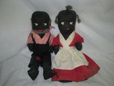 Vintage Black Americana Oncle Rémus tante Jemima par HankiePanky