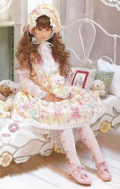 - lovely .Please also check outPinkyP Gothic Lolita Gothloli Girl created by LeahG