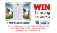 Win a Samsung Galaxy S4!