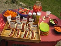 Pirate ship hot dogs - cute and easy lunch idea for our pirate theme