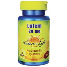 Lutein, 20 mg 30 Sgels AED195.00